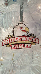 Bridgewater College Athletic logo Etched Class Ornament