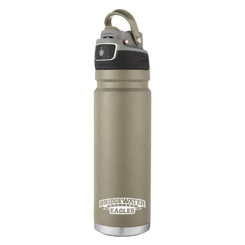 Bridgewater College 24oz Coleman Free-flow Ivory Hydration Bottle