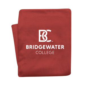 MV Sport Crimson BC Bridgewater College Sweatshirt Blanket