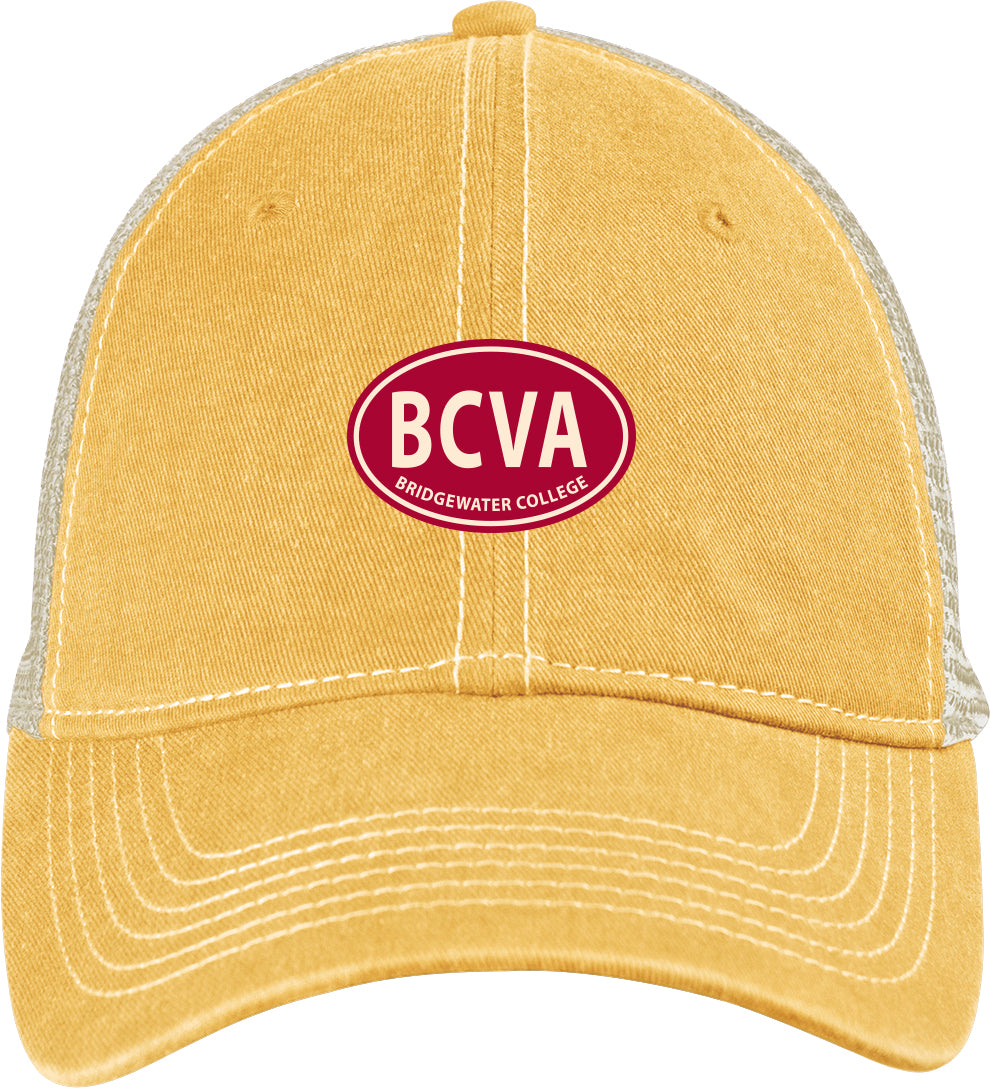 Blue 84 Bridgewater College Trucker Mustard/Stone Hat
