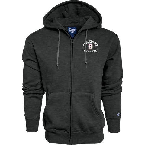 Blue 84 Charcoal Danville Full Zip Hood
