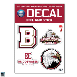 SDS Bridgewater College Super Durable Decal
