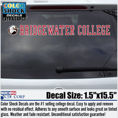 "Bridgewater College ""Eagle Head"" Logo Decal"