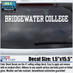 Bridgewater College Decal