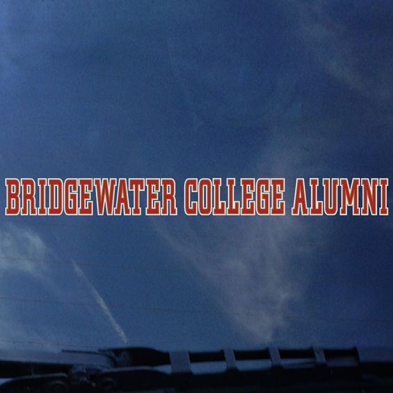 Color Shock Bridgewater College Alumni Decal