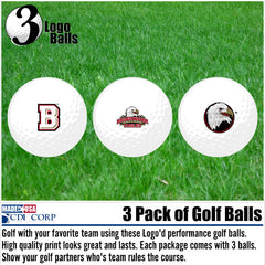Bridgewater College 3 Pack Golf Balls