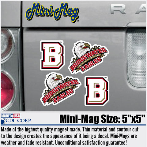 Bridgewater College 4 Pack Mini Magnets