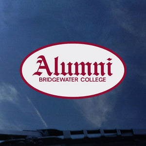 Bridgewater College Alumni Decal