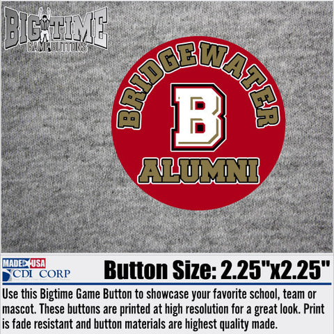 Bridgewater College Alumni Spirit Button