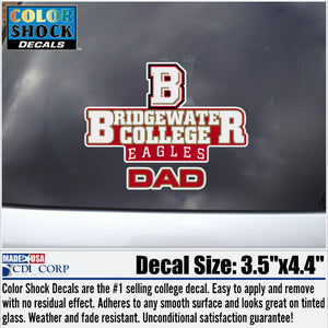 Bridgewater College DAD Decal