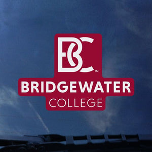 Color Shock Bridgewater College Stacked BC Logo Decal