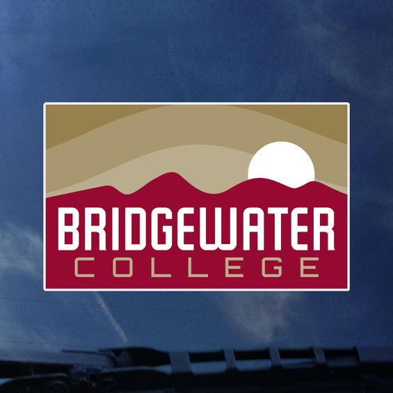 Color Shock Bridgewater College Gold Mountain Decal