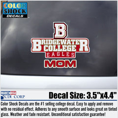 Bridgewater College MOM Decal