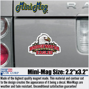 Bridgewater Athletic Logo Mini Magnet