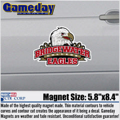 Bridgewater College Athletic Logo Magnet