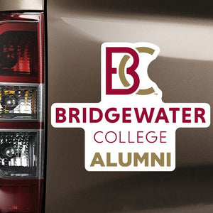 Color Shock Bridgewater College Alumni Magnet