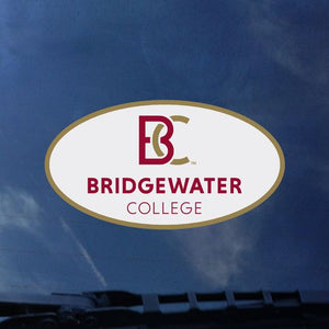 Color Shock Bridgewater College New BC Logo Decal