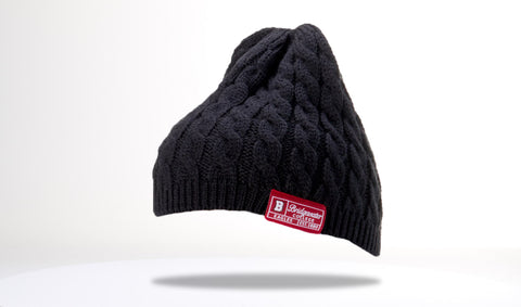 Richardson Black Cable Bridgewater Beanie