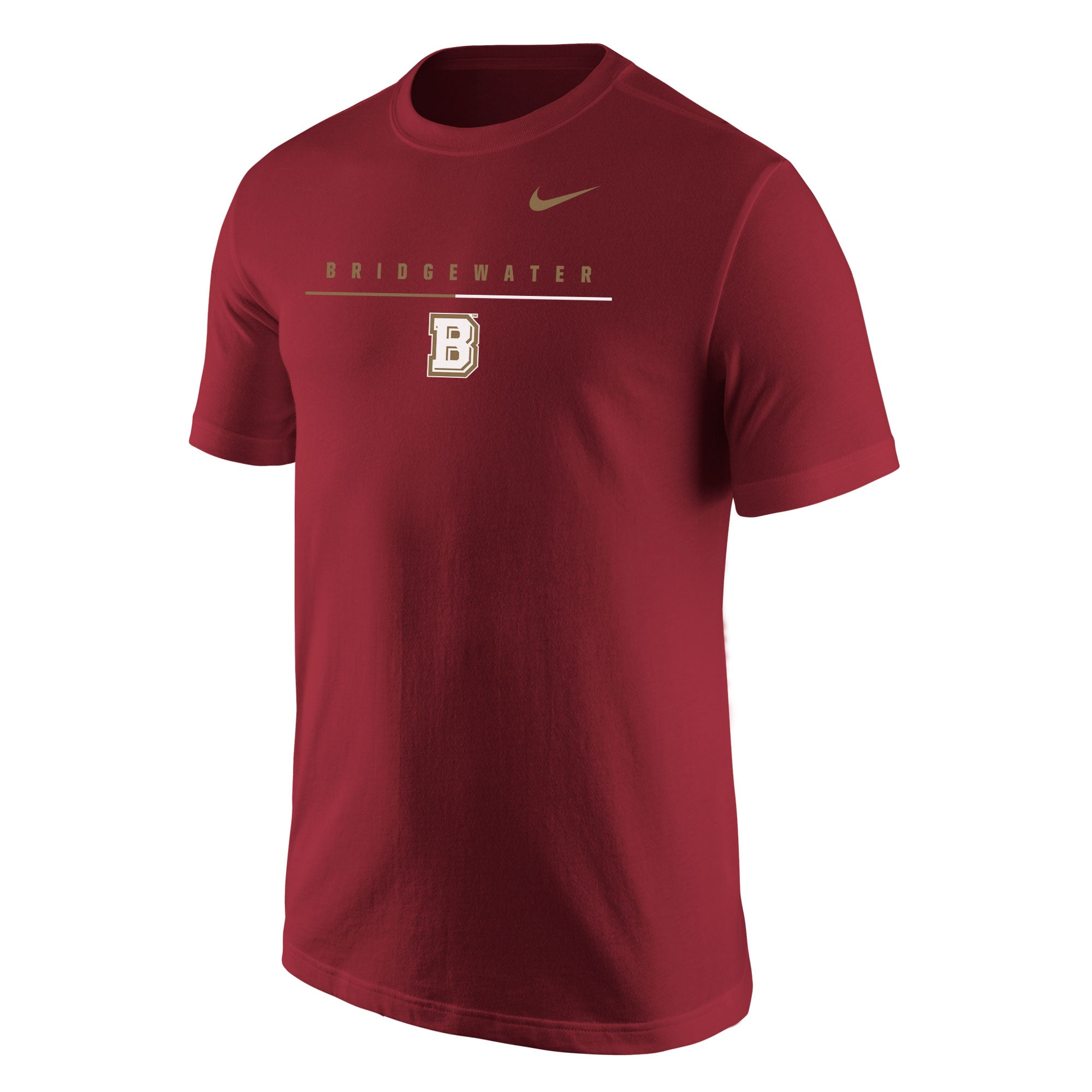 Bridgewater College Nike Crimson Core Short Sleeve Tee