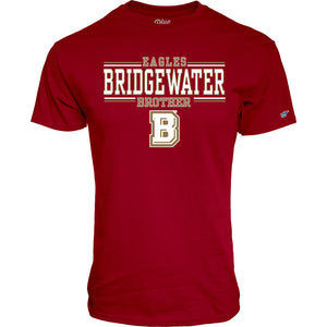 Blue 84 Bridgewater College Brother Tee