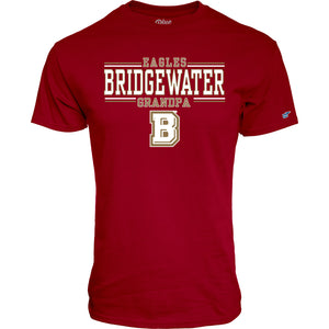 Blue 84 Bridgewater College Grandpa Tee