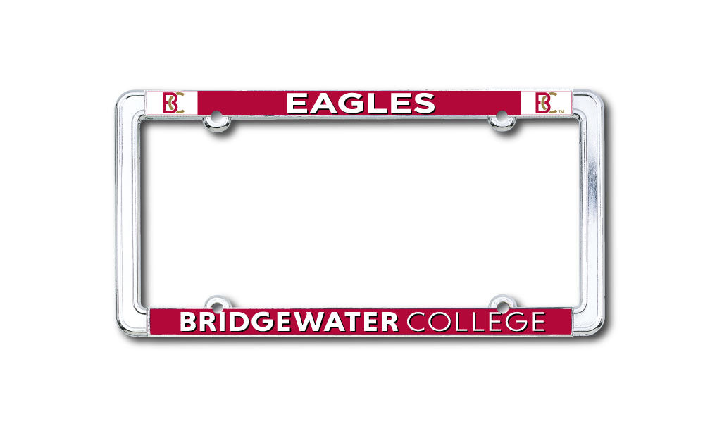 Bridgewater College BC Eagles Licence Plate Cover