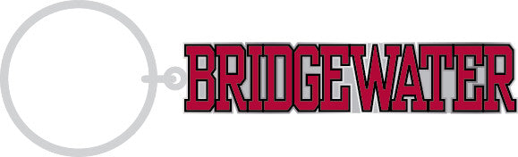 Bridgewater College Varsity Keytag Chrome