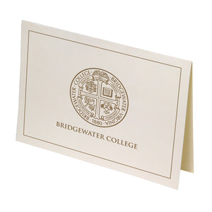 Bridgewater College Seal Boxed Note Cards