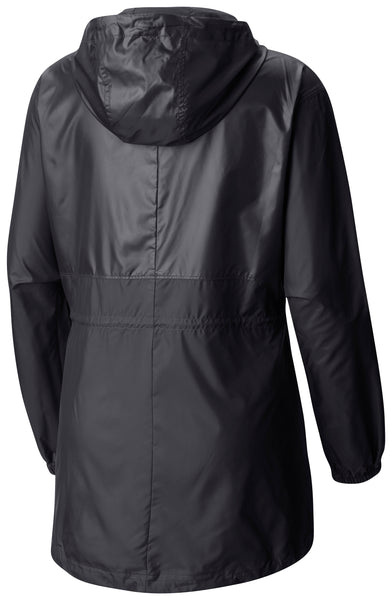 Columbia Womens Black Windbreaker Jacket
