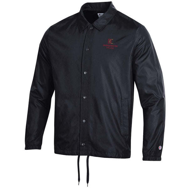 Bridgewater College Black Coaches Jacket