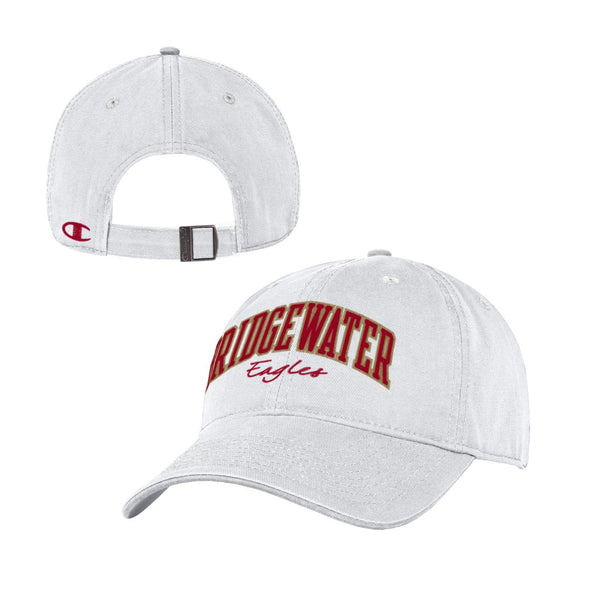 Bridgewater College Champion Women's White Adjustable Hat
