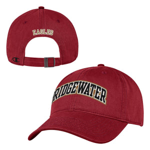 Bridgewater College Champion Men's Crimson  Adjustable Hat