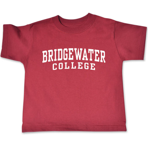 Bridgewater College College Kids Toddler Short Sleeve Crimson Tee