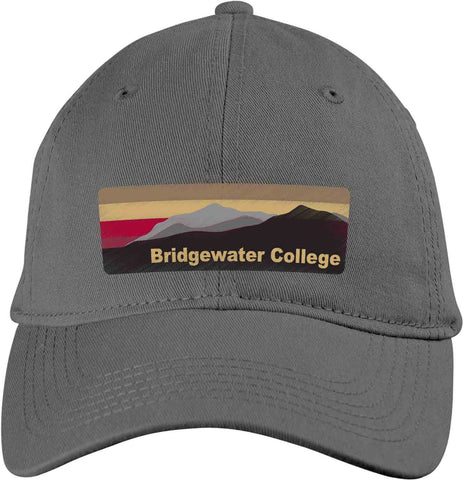 Blue 84 Bridgewater College Adjustable Dark Grey Blue Ridge Mountain Hat