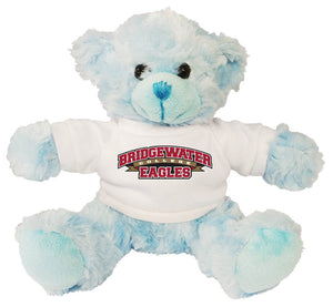 "Bridgewater College 11"" Fluffy Bear - Blue"
