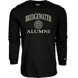 Blue 84 Black Progeny Bridgewater College Alumni Seal Long Sleeve Tee