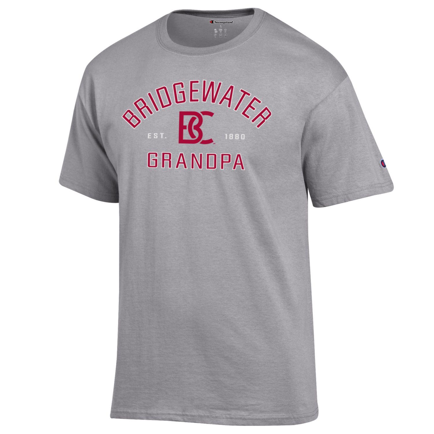 Champion Bridgewater College Short Sleeve Grandpa Tee