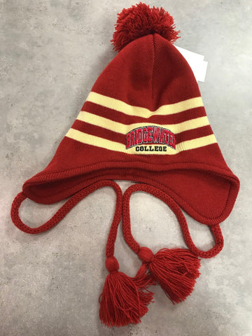 The Game Bridgewater College Crimson and Gold Knit Beanie