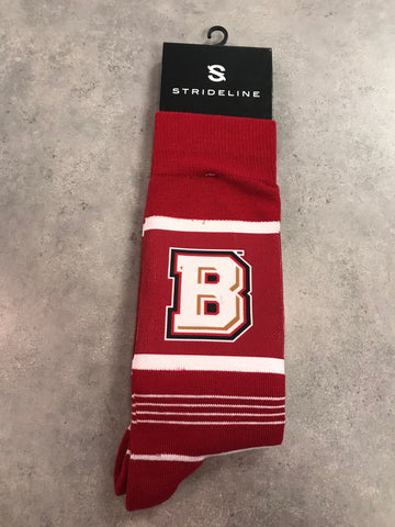 Strideline Bridgewater College Men's Dress Socks