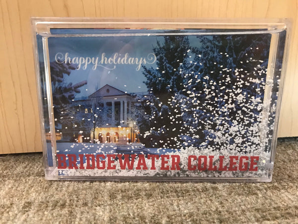 Bridgewater College Snow Globe Picture Frame