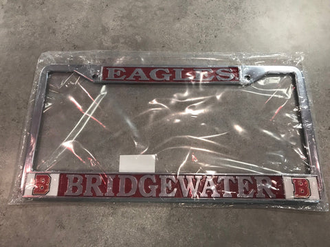 "Bridgewater College ""Eagles"" License Plate Cover"