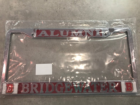 "Bridgewater College ""Alumni"" License Plate Cover"