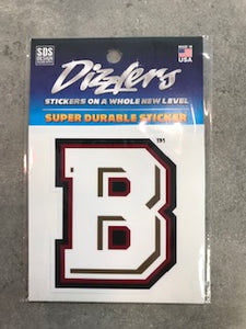 SDS Bridgewater College Dizzlers Super Durable Sticker