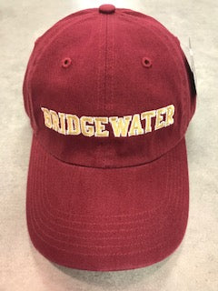 Richardson Bridgewater College Adjustable Crimson Hat