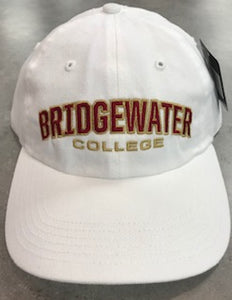 Richardson Bridgewater College White Adjustable Hat