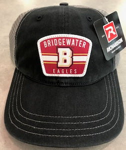Richardson Black/Charcoal Trucker Bridgewater Eagles Sublimated Patch