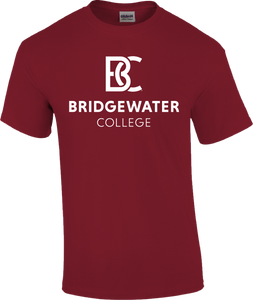 BC New Logo Crimson TRT Short Sleeve Tee
