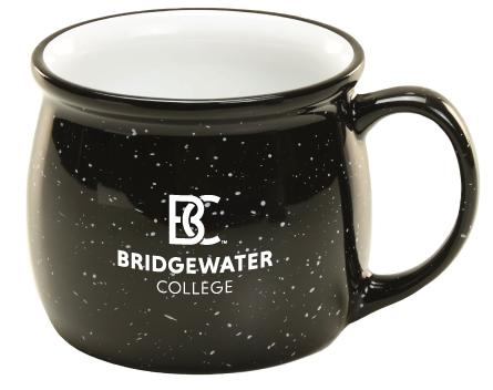BC Bridgewater College RFSJ Black Mug