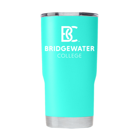 Bridgewater College Gametime Sidekicks BC Turquoise 20oz Tumbler
