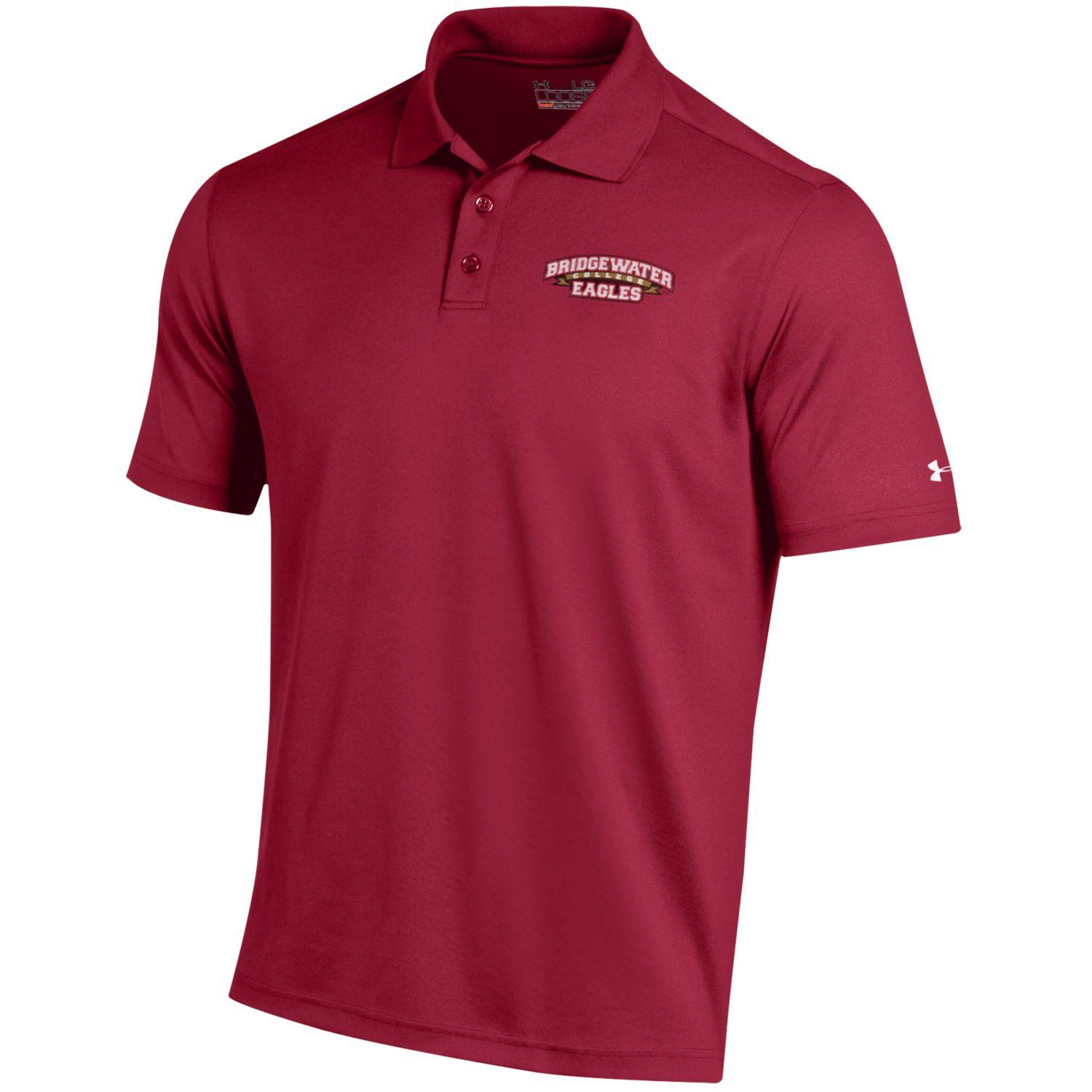 Bridgewater College Crimson Under Armour Men's Polo
